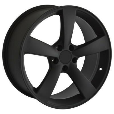 GMP SAT21 Mat zwart 20 inch velg