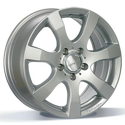 Tomason TN3F Silver painted 16 inch velg