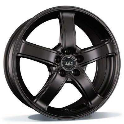 TEC AS1 mat black 17 inch velg
