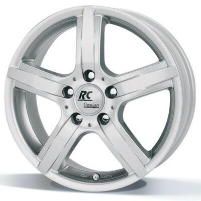RC DESIGN DRIVE Kristal zilver  15 inch velg