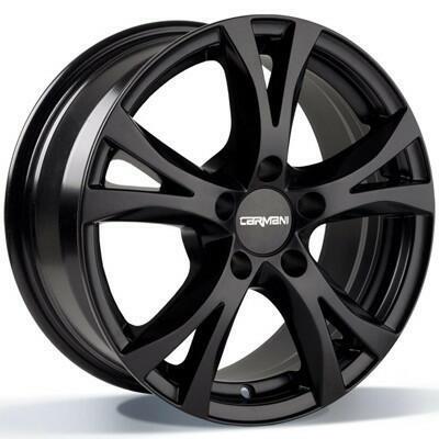 Carmani CA9 Compete black matt 16 inch velg