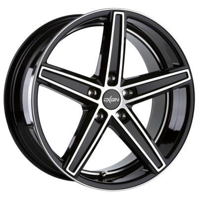 Oxigin 18 Concave black full polish 19 inch velg