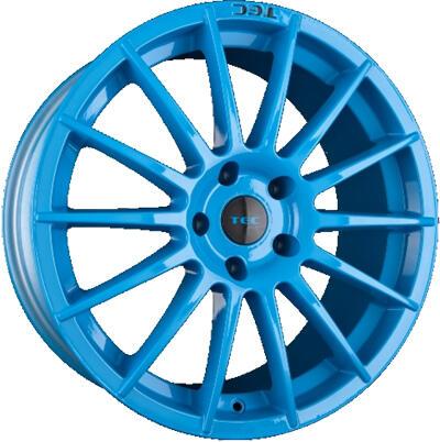 TEC AS2 smurf light blue 17 inch velg