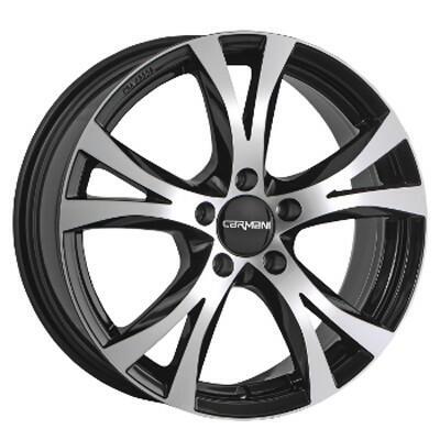 Carmani CA9 Compete black polish 15 inch velg