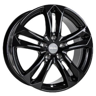 Carmani CA5 Arrow black 16 inch velg