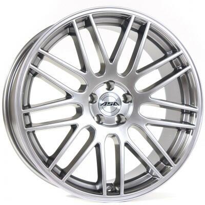 TEC GT1 shiny silver 22 inch velg