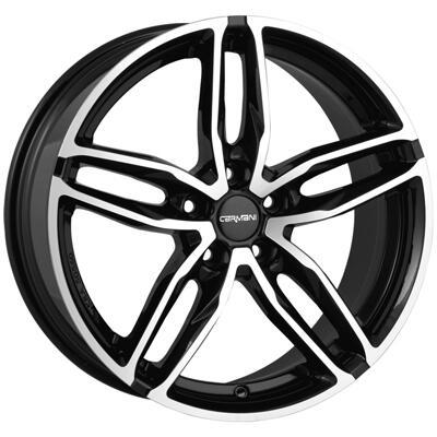 Carmani CA13 Twinmax black polish 18 inch velg