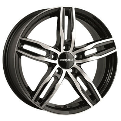 Carmani CA14 Paul black polish 16 inch velg