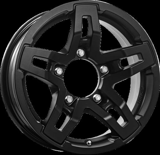 RC DESIGN RC33X Mat zwart 15 inch velg