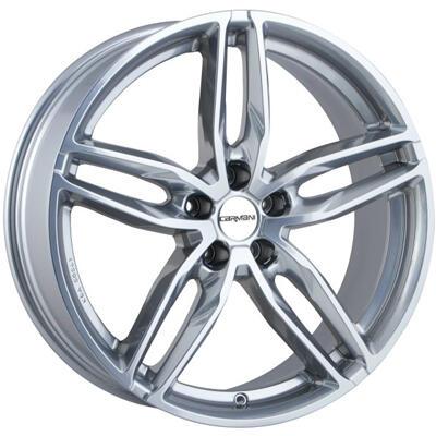 Carmani CA13 Twinmax bright silver 20 inch velg