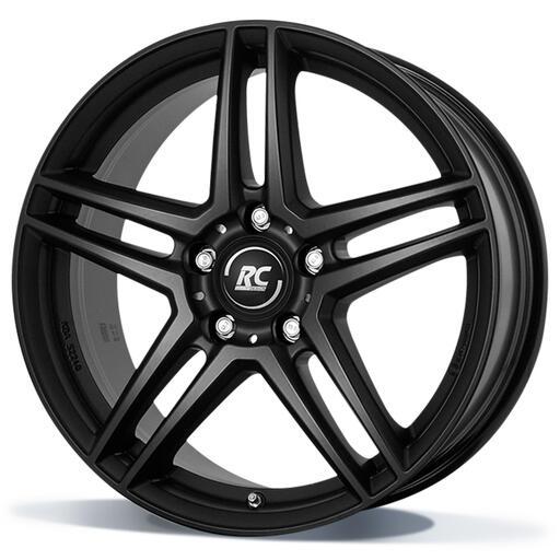 RC DESIGN RCD17 Mat zwart 17 inch velg