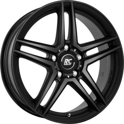 RC DESIGN RCD17 Satin black 18 inch velg