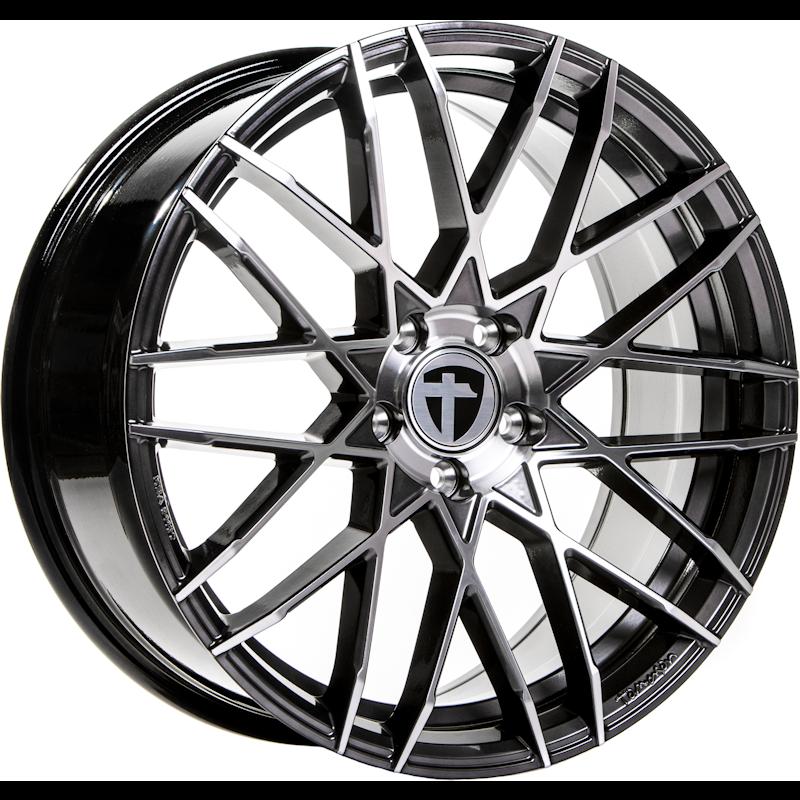 Tomason TN19 Dark Hyper black polished 20 inch velg