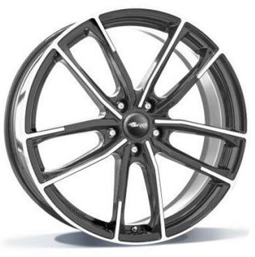 BROCK B38 Himalaya grey - front gepolijst  18 inch velg