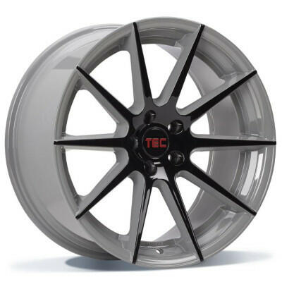 TEC GT7 black grey 2-tone 19 inch velg