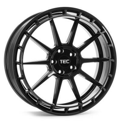 TEC GT8-links black glossy 19 inch velg