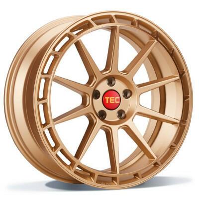 TEC GT8-links rosé gold 19 inch velg