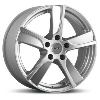 Carmani CA12 Dynamic crystal silver 17 inch velg