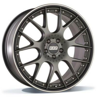 BBS CH-RII platinum/black 22 inch velg