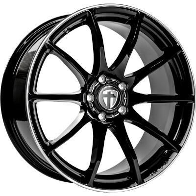Tomason TN1 Black Rim Pol 18 inch velg