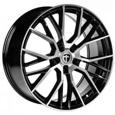 Tomason TN23 Black Diamond polished 21 inch velg