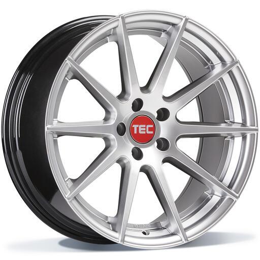 TEC GT7 hyper silver 20 inch velg