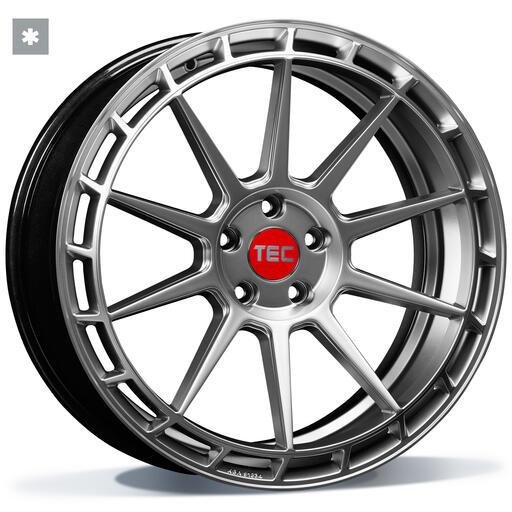 TEC GT8 hyper silver 18 inch velg