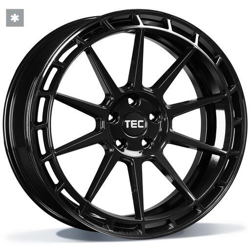 TEC GT8 black glossy 18 inch velg