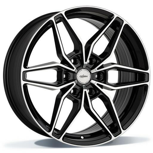 Oxigin 24 Oxroad black full polish 20 inch velg