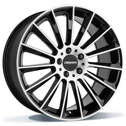 Carmani CA17 Fritz black polish 18 inch velg
