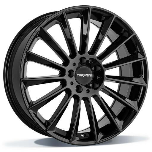 Carmani CA17 Fritz black 20 inch velg