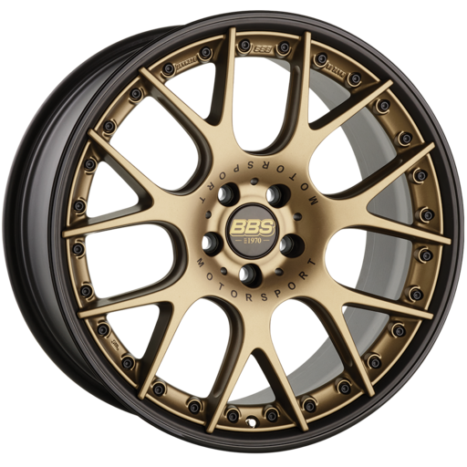 BBS CH-RII bronze/black 22 inch velg