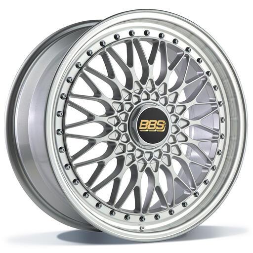 BBS Super RS GLANZEND ZILVER 20 inch velg