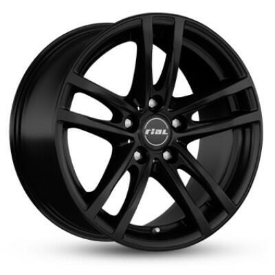 RIAL X10 Mat zwart 17 inch velg