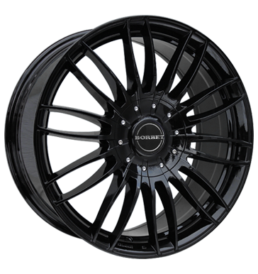 BORBET CW 3 Black Glossy 17 inch velg