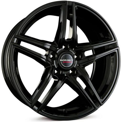 BORBET XRT Black Glossy 18 inch velg
