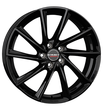 BORBET Vtx Black Glossy 19 inch velg