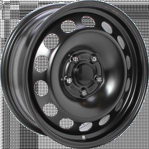 ALCAR STAHLRAD 2491 Black 13 inch velg