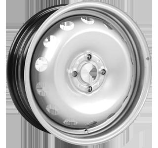 ALCAR STAHLRAD 5010 Silver 14 inch velg
