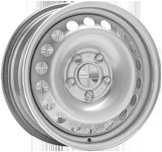 ALCAR STAHLRAD 8337 Silver 15 inch velg