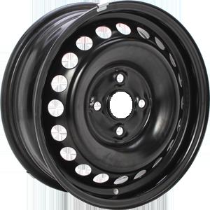 ALCAR STAHLRAD 8390 Black 15 inch velg