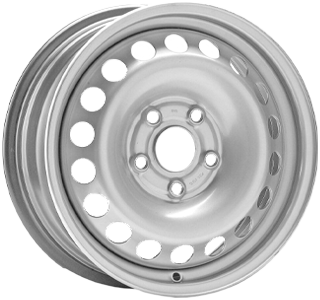 ALCAR STAHLRAD 8445 Silver 15 inch velg