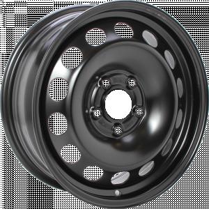 ALCAR STAHLRAD 9016 Black 17 inch velg