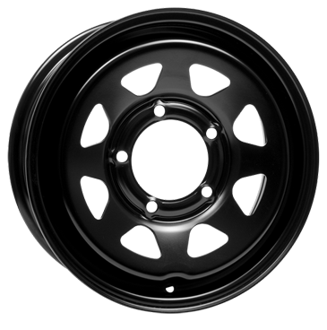 DOTZ 4X4 Dakar dark Black 16 inch velg