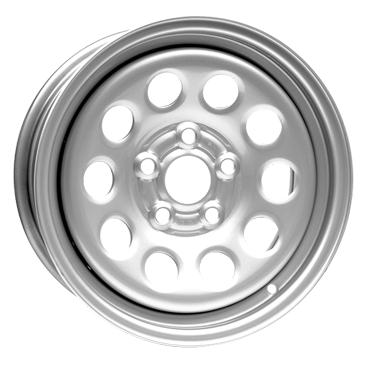 DOTZ 4X4 Modular Silver 16 inch velg