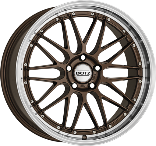 Dotz Revvo Bronze/polished lip 20 inch velg