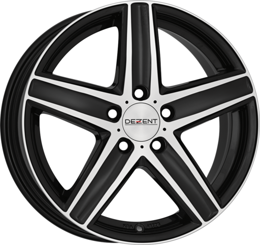 DEZENT TG dark Black/polished 16 inch velg