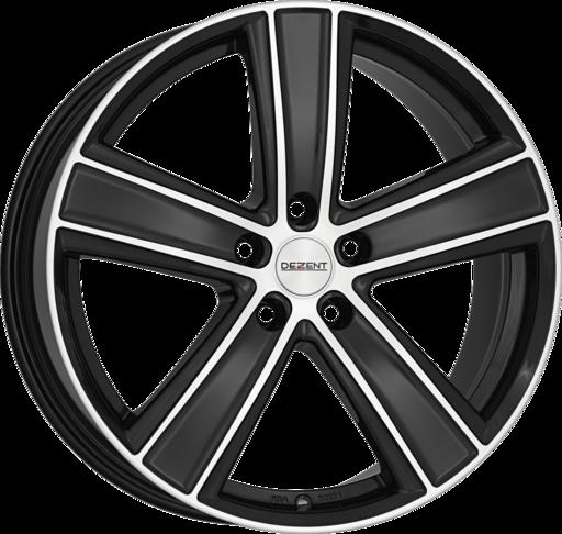 DEZENT TH dark Black/polished 20 inch velg
