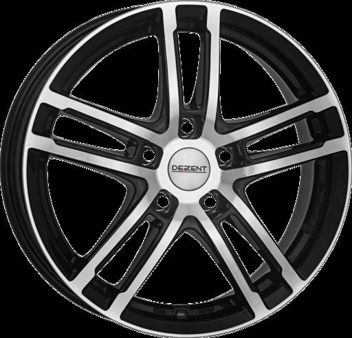 DEZENT TZ dark Black/polished 18 inch velg