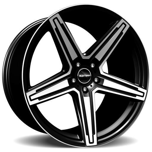 GMP MK1 STRONG Zwart gepolijst 21 inch velg